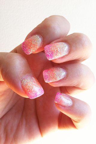 Sunset-nails